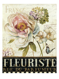 Marche de Fleurs III Prints by Lisa Audit