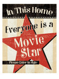 In This Home Everyone is a Star Premium Giclee Print by  Pela