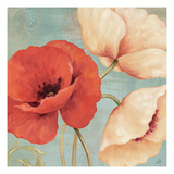 Rouge and Blanc II Reproduction procédé giclée par Daphne Brissonnet
