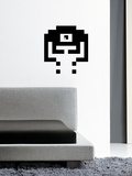 Pixel Monsta 01 Small Wall Decal
