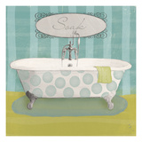 Polka Tub II Giclee Print by Sarah Adams