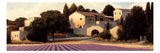 Lavender Fields Panel I Premium Giclee Print by James Wiens