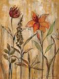 Aquarelle Garden II Giclee-tryk i høj kvalitet af Silvia Vassileva