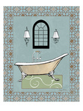 Chandelier Bath IV Giclee Print by Avery Tillmon