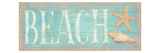 Pastel Beach Premium Giclee Print by Daphne Brissonnet
