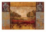 Landscape in Gold Prints by Silvia Vassileva