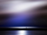 Blue Sunset Photographic Print by Josh Adamski