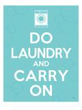 Laundry On I プレミアムジクレープリント : ペラ