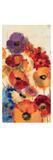 Joyful Garden Panel III Premium Giclee Print by Silvia Vassileva