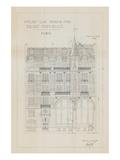 Quai Henri I Giclee Print by Wild Apple Studio