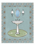 Chandelier Bath II Poster by Avery Tillmon