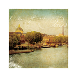 Golden Age of Paris V Giclee Print by Wild Apple Photography
