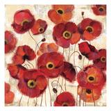 Bold Poppies Giclee Print by Silvia Vassileva