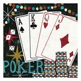 Vegas Premium Giclee Print by Michael Mullan