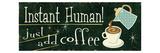 Funny Coffee III Premium Giclee Print by  Pela