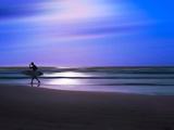 Blue Surfer II Photographic Print by Josh Adamski