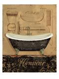 Bain de Monsieur Premium Giclee Print by Daphne Brissonnet