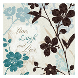 Botanical Touch Quote II Stampe di Lisa Audit
