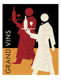 Grand Vins Poster by Hugo Wild
