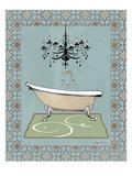 Chandelier Bath III Giclee Print by Avery Tillmon