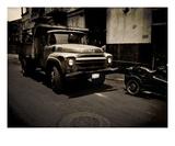 Le Camion Premium Giclee Print by Sebastien Nouet