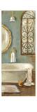 Vintage Bath II Print by Silvia Vassileva