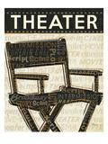 Cinema III Premium Giclee Print by  Pela