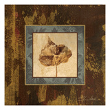 Autumn Leaf Square II Premium Giclee Print by Silvia Vassileva