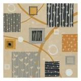 Graphic Tiles II Giclee Print by Wild Apple Portfolio