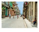 La Vie, La Vieille Havane Premium Giclee Print by Sebastien Nouet