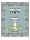 Chandelier Bath I Giclee Print by Avery Tillmon