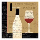 Evening in Paris I Giclee Print by Daphne Brissonnet