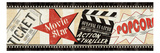 Movie Night Premium Giclee Print by  Pela