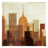 Summer in the City II Giclee Print by Mo Mullan