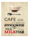 Cafe Latte Premium Giclee Print by Marco Fabiano