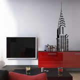 Chrysler Building - Large Muursticker