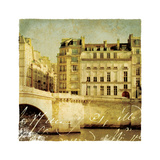 Golden Age of Paris III Premium Giclee Print