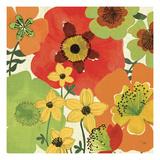 Garden Brights II Premium Giclee Print by  Pela