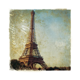 Golden Age of Paris I Poster by Wild Apple Photography