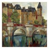 Paris Late Summer II Giclee-tryk i høj kvalitet af Silvia Vassileva