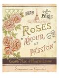French Seed Packet I Giclée-Premiumdruck von Daphne Brissonnet