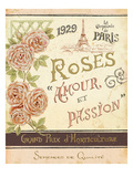 French Seed Packet I Premium Giclee Print by Daphne Brissonnet