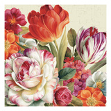 Garden View Tossed Giclee Print by Lisa Audit