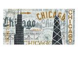 Hey Chicago Vintage プレミアムジクレープリント : マイケル・ミューラン
