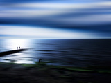 On the Pier Photographic Print by Josh Adamski