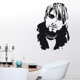 Kurt Cobain Large Wall Decal