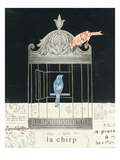 La Chirp Premium Giclee Print by Emily Adams