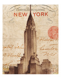 Letter from New York Giclee Print by Wild Apple Portfolio