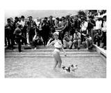 Starlet, Cannes Film Festival, France 1983 Premium Giclee Print by Patrick Mesner