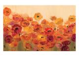 Summer Poppies Premium Giclee Print by Silvia Vassileva